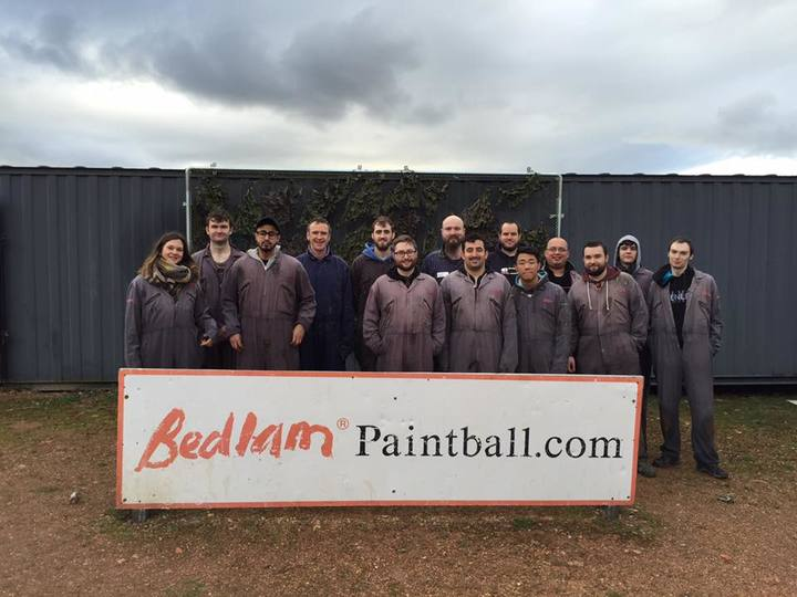 Bedlam Paintball Preston