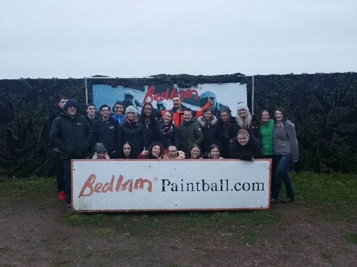 Bedlam Paintball Reading