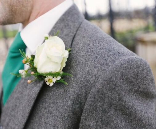 cad and the dandy grey wedding suit