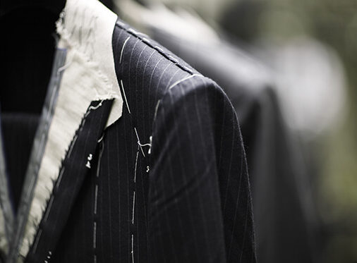 suit baste at cad and the dandy savile row
