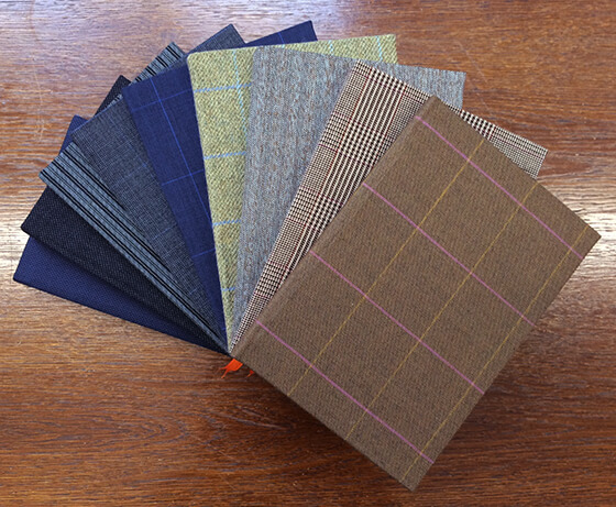 cad and the dandy cloth covered notebooks