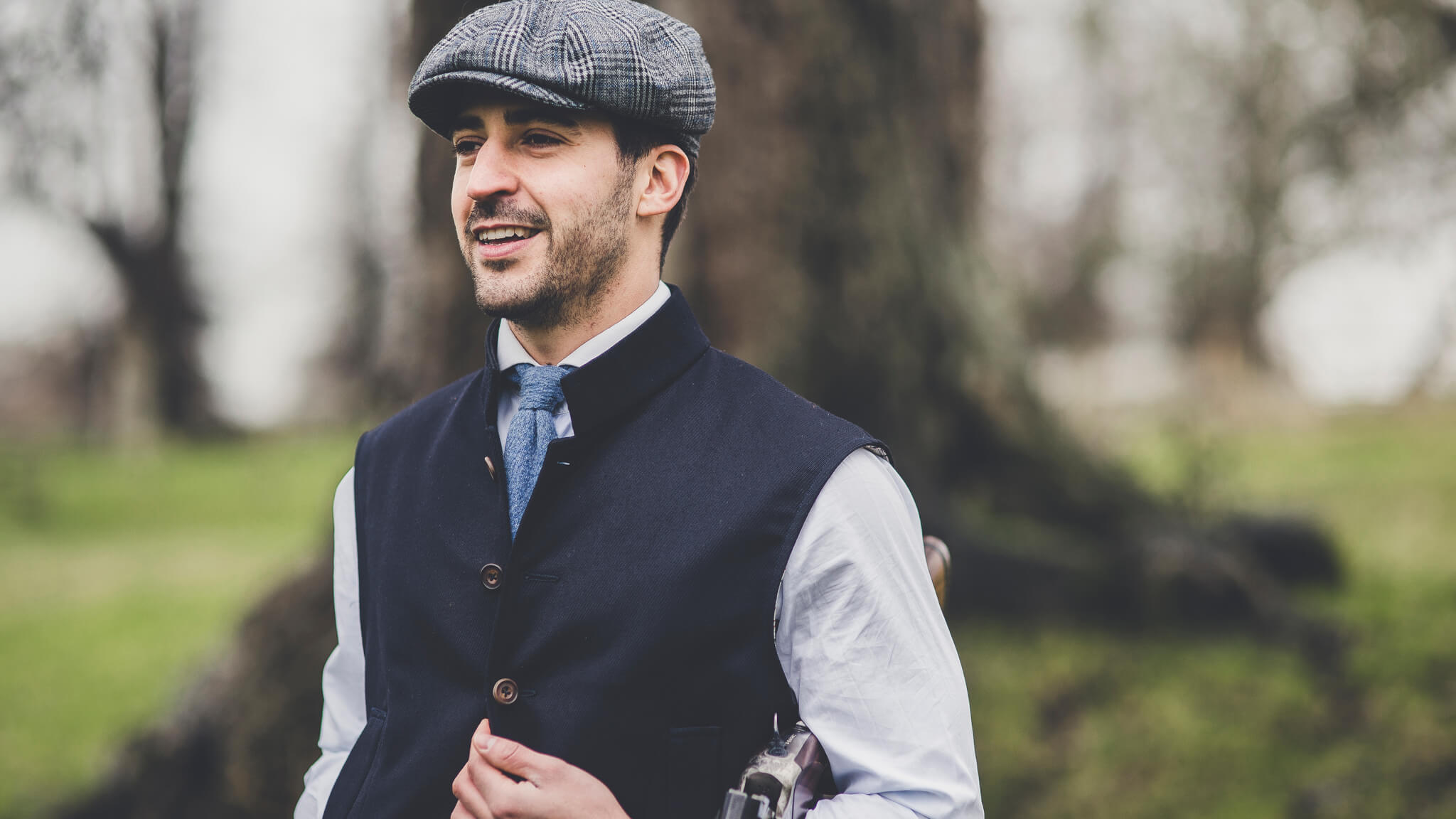Tailored Tweed Gilet