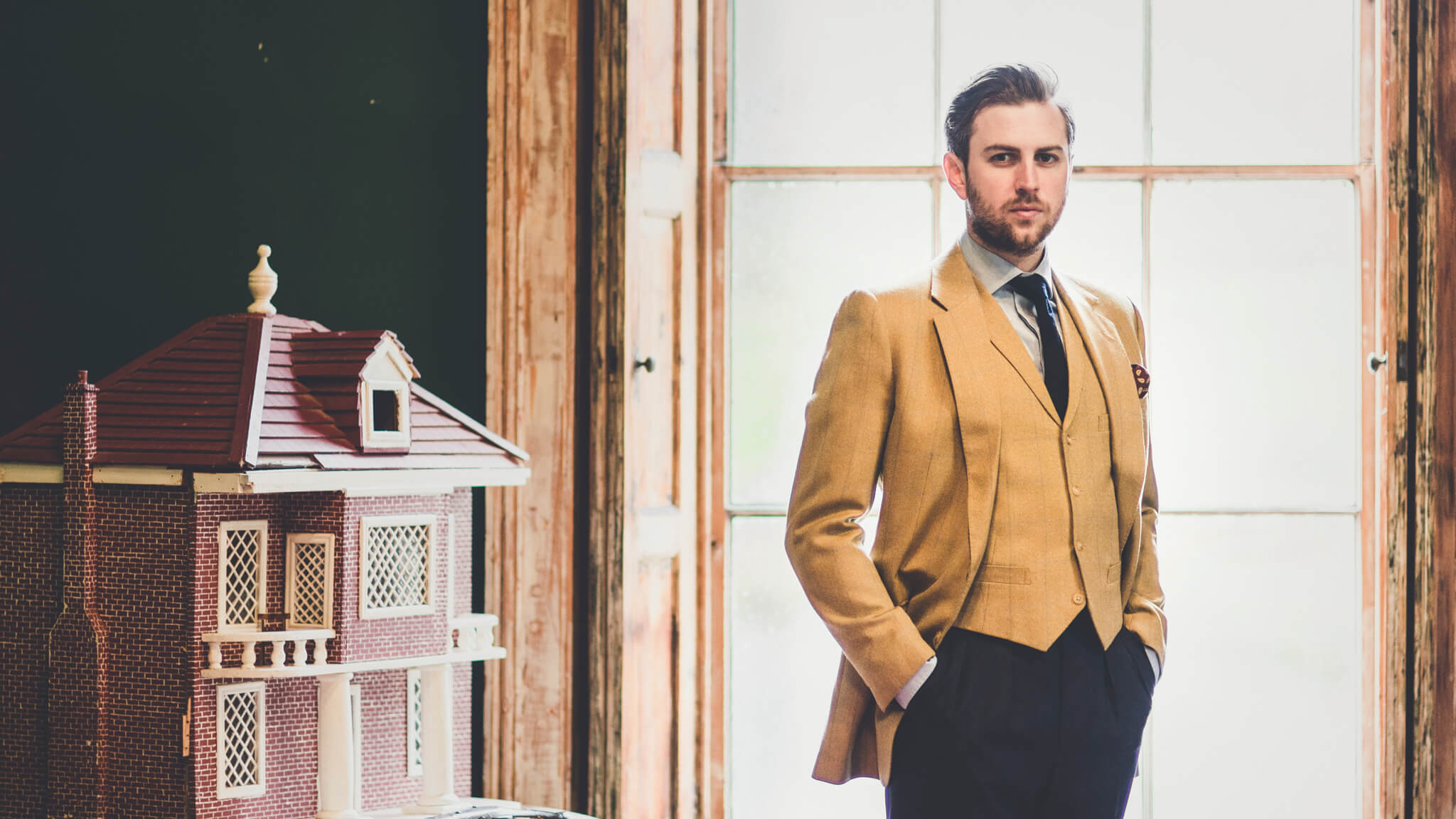Bespoke Tweed Jacket and Waistcoat
