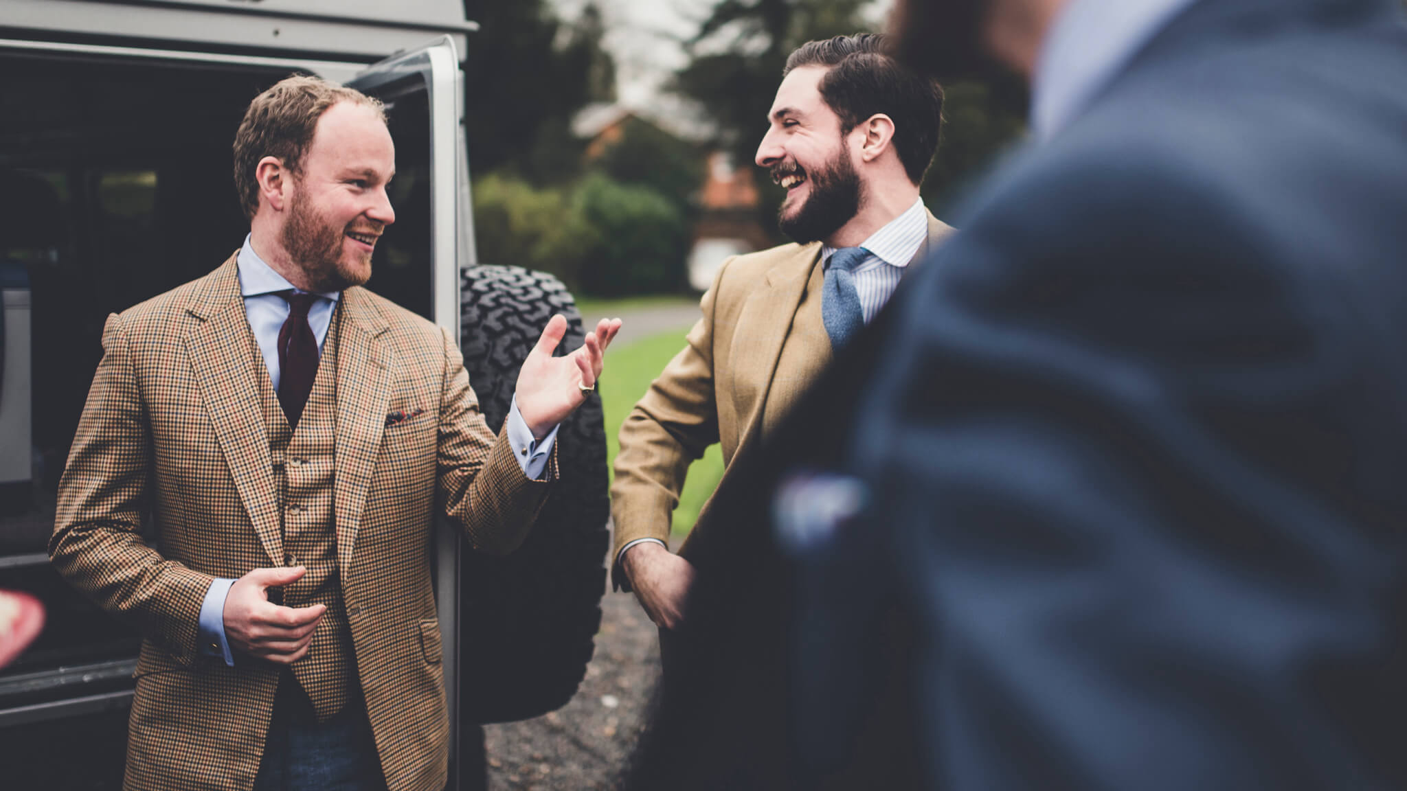 Bespoke Tweed Suits