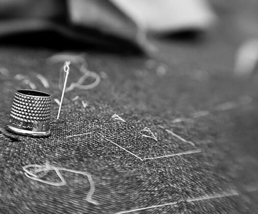 cad and the dandy hand stitching
