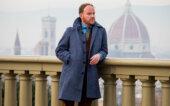 Blue Bespoke Overcoat