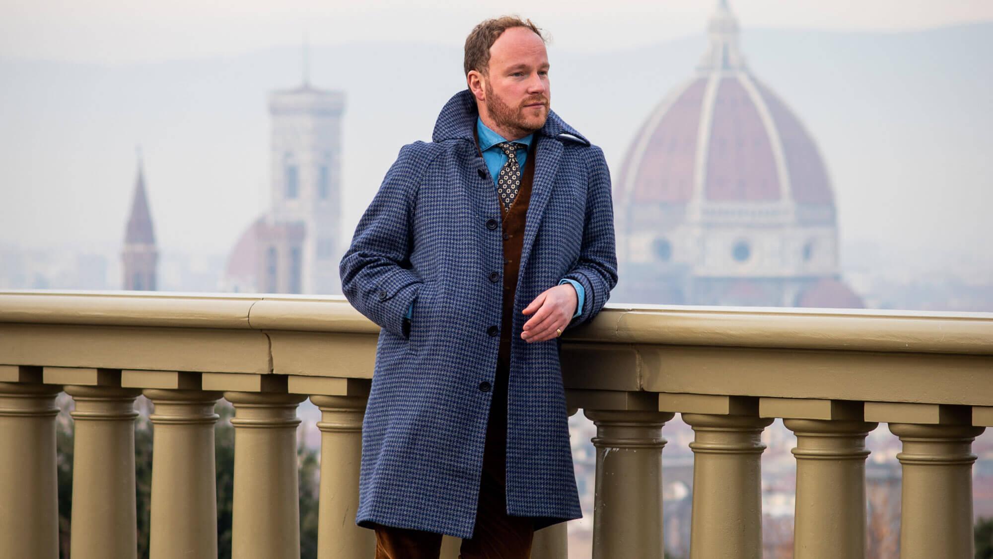 Bespoke Raglan Sleeve Overcoat