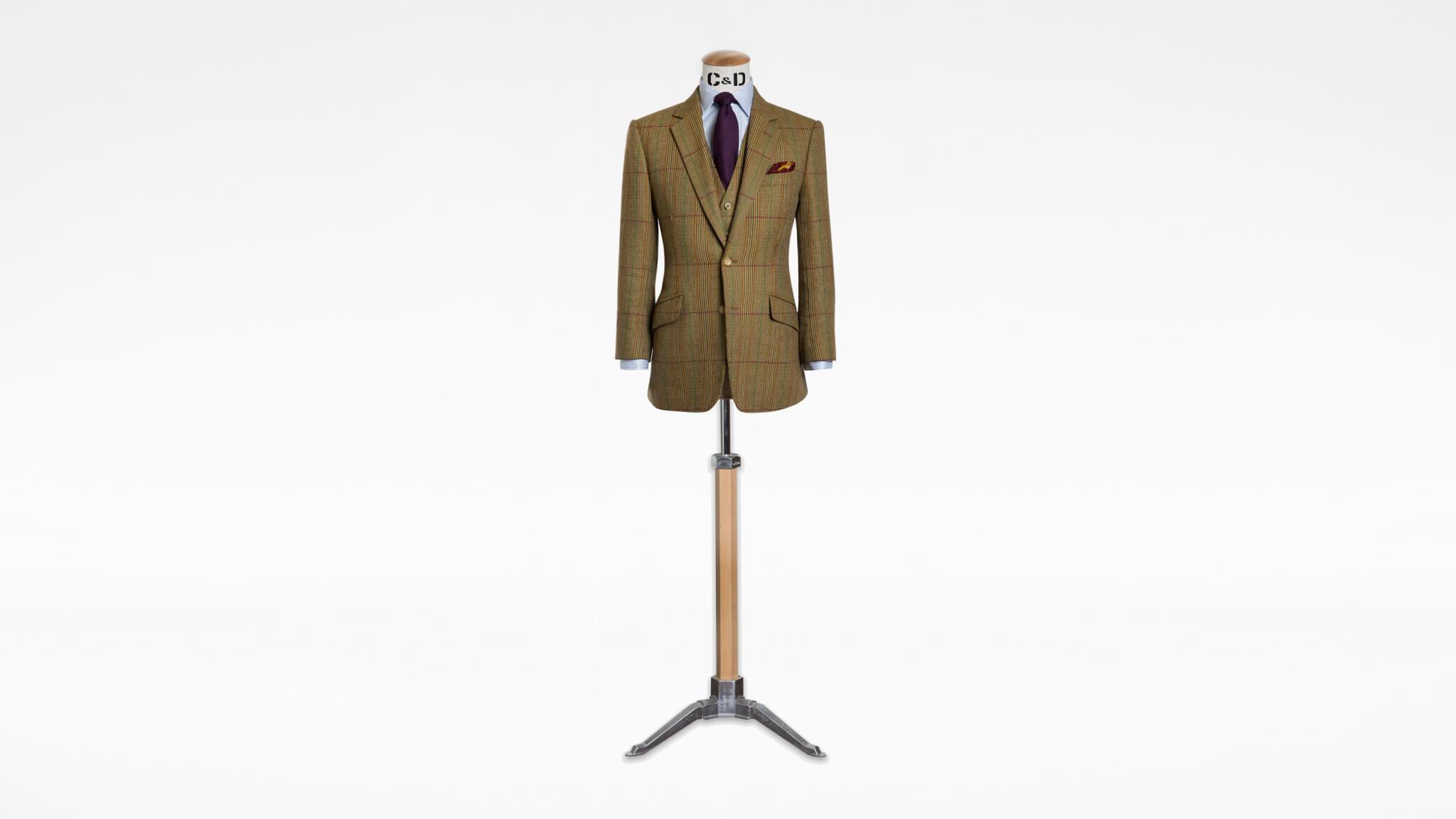 Bespoke Tweed Three Piece Suit