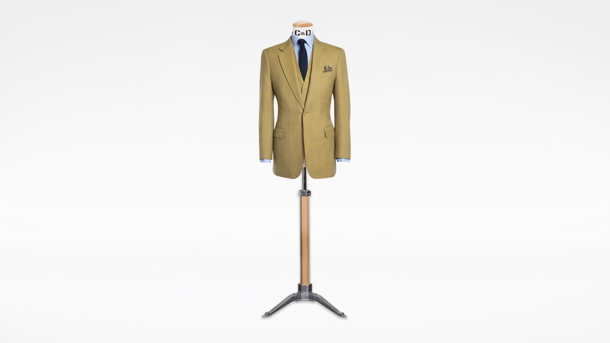 Bespoke Tweed Suit Savile Row