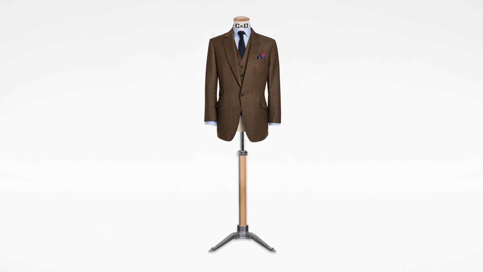 Tweed Suit Savile Row