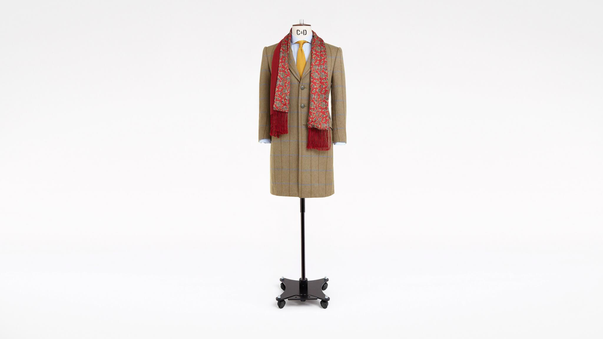 Bespoke Tweed Overcoat