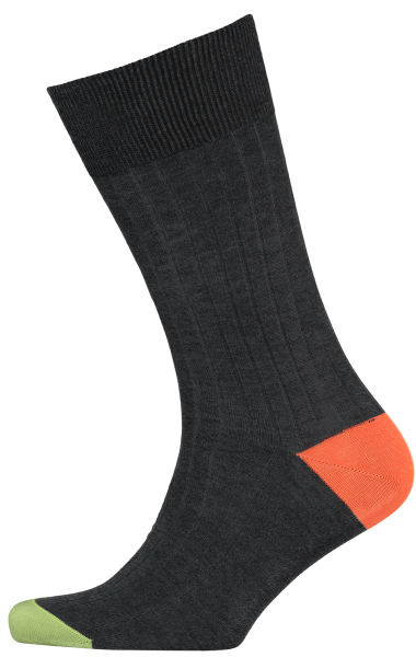 Cad & The Dandy Cotton Ribbed Multi-Coloured Socks