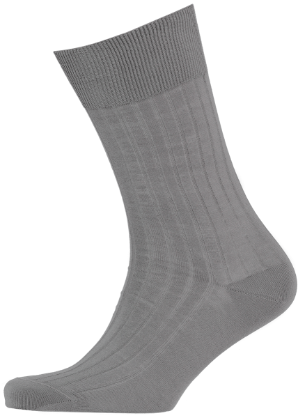 menswear-socks-cotton-ribbed-elephant-grey-1
