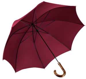 Cad & The Dandy Walking Umbrella in Wine
