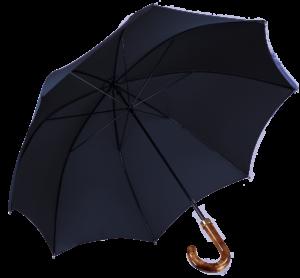 Cad & The Dandy Walking Umbrella in Navy Blue