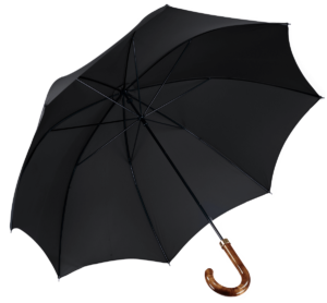 Cad & The Dandy Walking Umbrella in Black