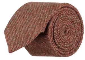 Cad & The Dandy Forest Wool Tie in Brick