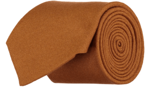 Cad & The Dandy Gainsborough Wool Tie in Rust