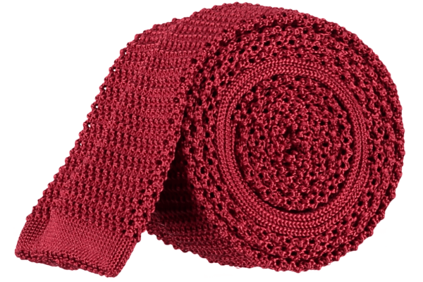 menswear-accessories-unlined-knitted-tie-bright-red-1