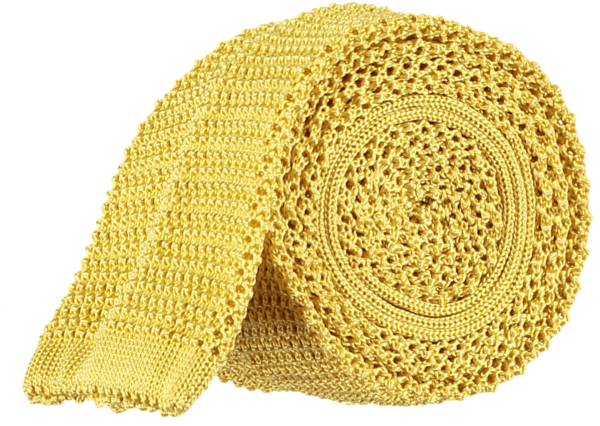 menswear-accessories-unlined-knitted-tie-bright-yellow-1