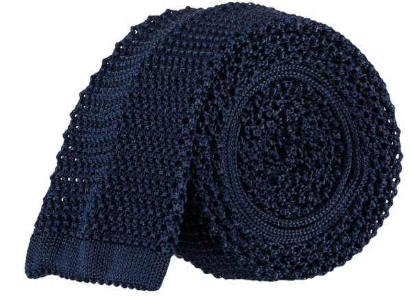 menswear-accessories-unlined-knitted-tie-navy-blue-1