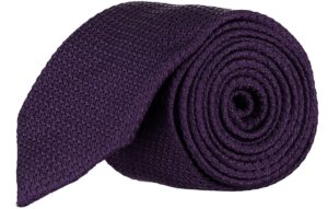 Cad & The Dandy Grendine Tie in Dark Violet