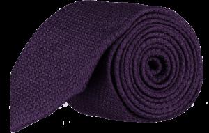 Cad & The Dandy Grendine Tie in Dark Violet