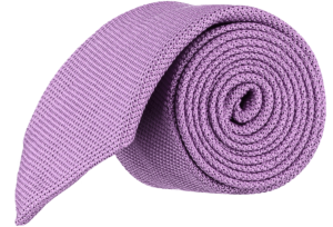 Cad & The Dandy Micro Grendine Tie in Violet