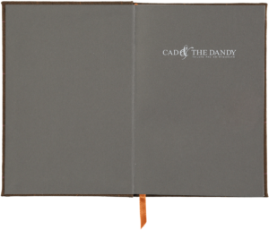 Cad & The Dandy Cloth Bound Tweed Notebook