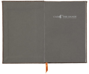 Cad & The Dandy Cloth Bound Prince of Wales Notebook