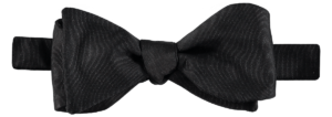 Cad & The Dandy Self Tie Black Grosgrain Bow Tie