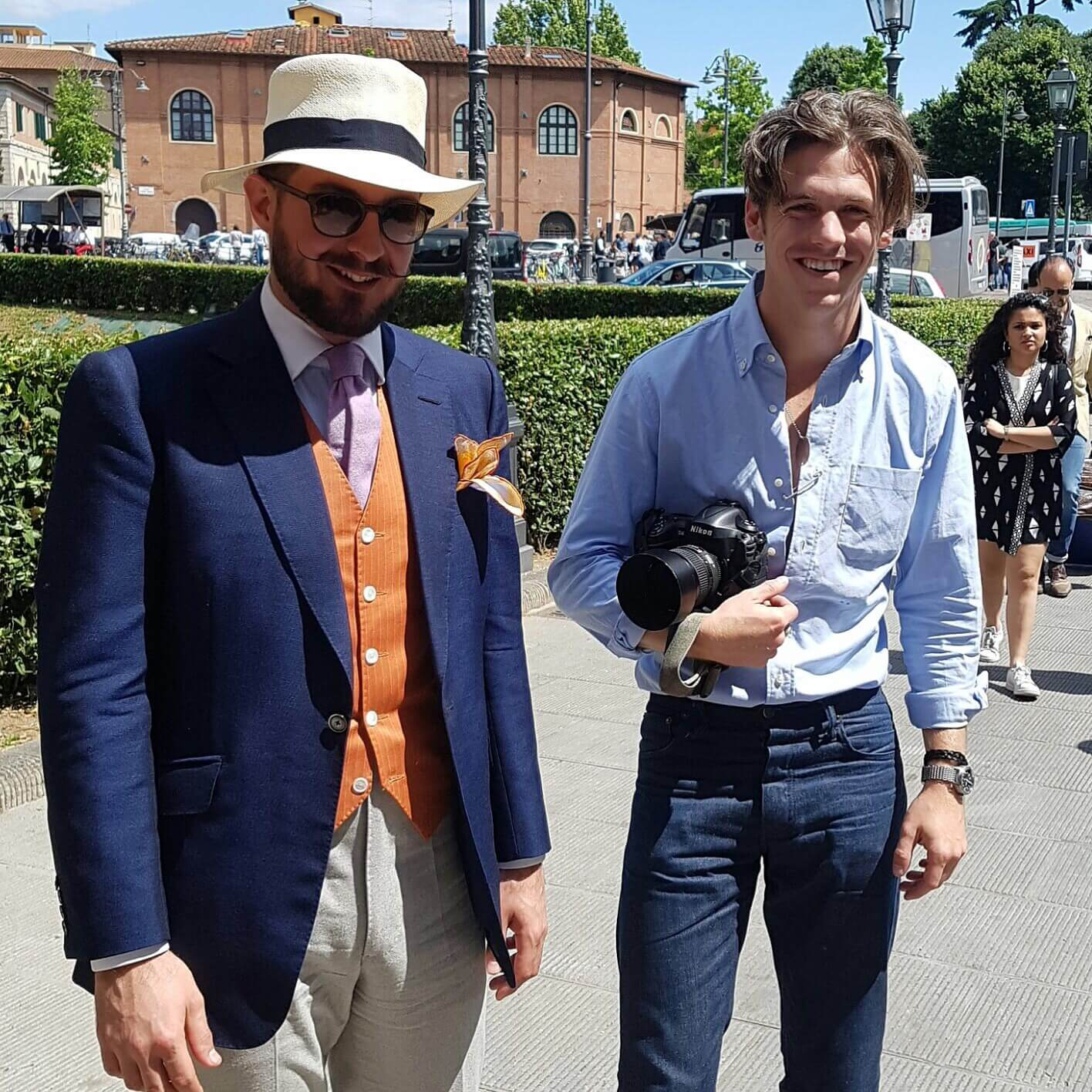 cad and the dandy with robert spangle at pitti uomo june 2016
