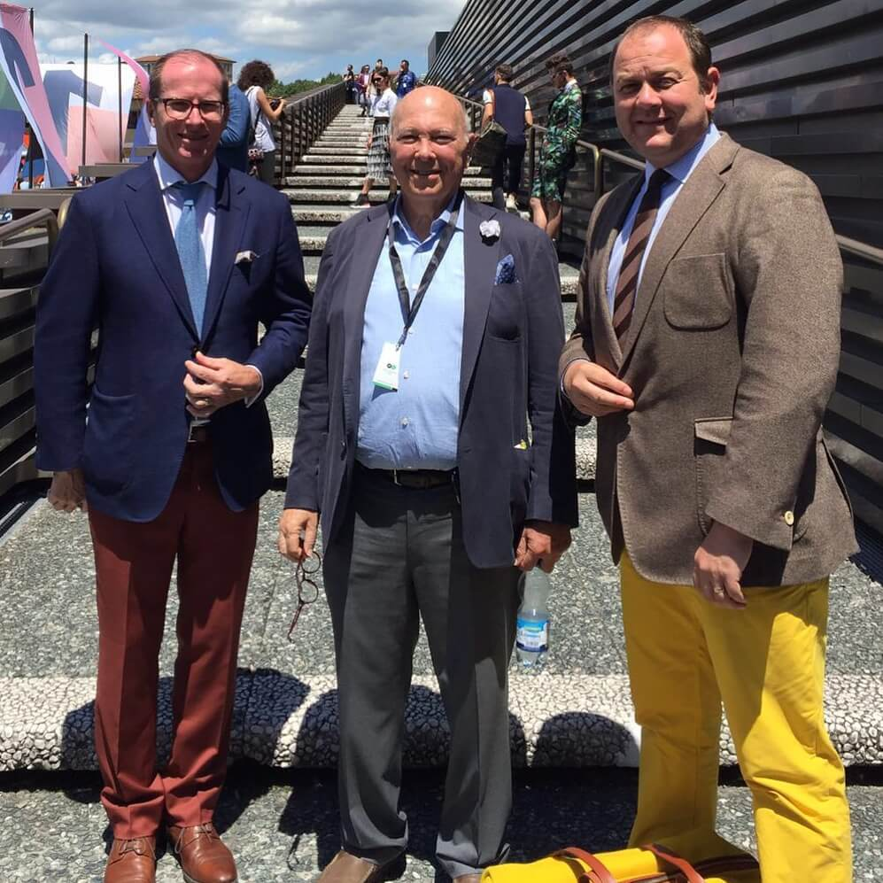 cad and the dandy with huddersfield fine worsteds at pitti uomo june 2016