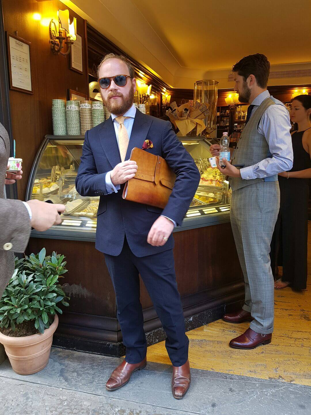 cad and the dandy at pitti uomo june 2016