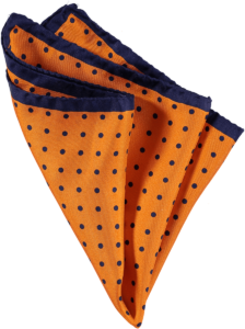 Cad & The Dandy Spotted Silk Pocket Square