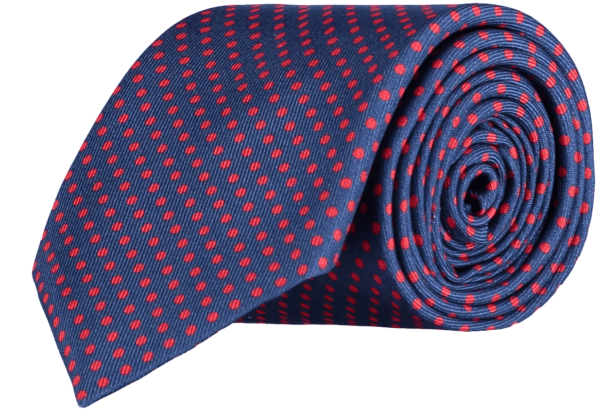 spotted-silk-tie-blue-red