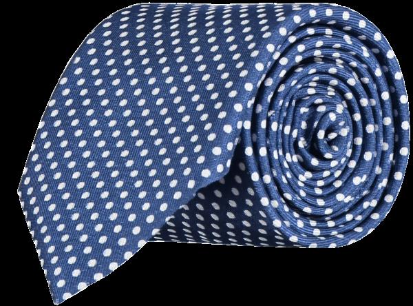 spotted-silk-tie-blue-white