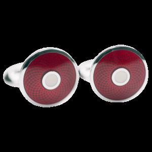 cufflink-garnet-white-guilloche-front