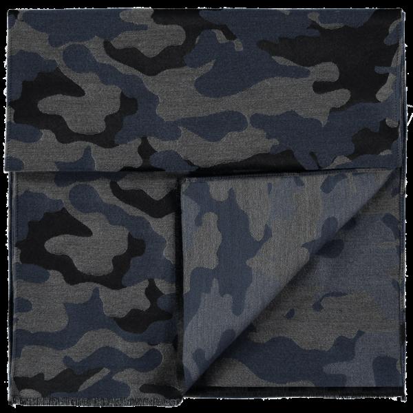 wool-scarf-camo-black-grey-blue-detail