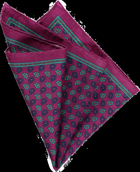 cerise-floral-pocket-square