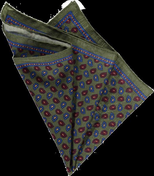 pocket-square-green-flora