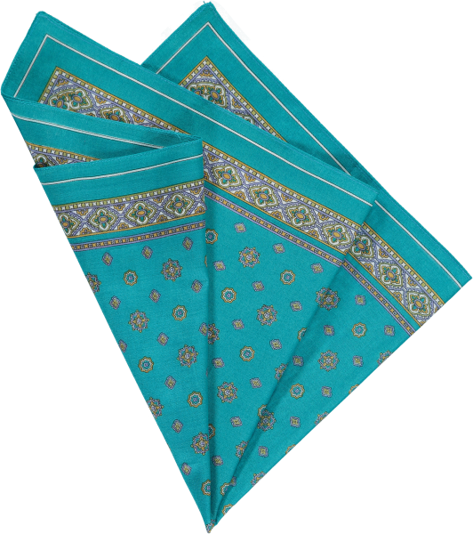 cotton-pocket-square-teal-foulard