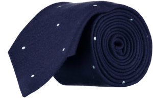 wool-silk-tie-navy-white-spots