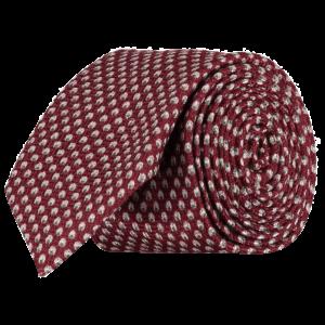 Italian-Wool-Silk-Tie-0093-Rolled
