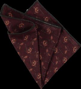 silk-pocket-square-foxes-chianti-folded