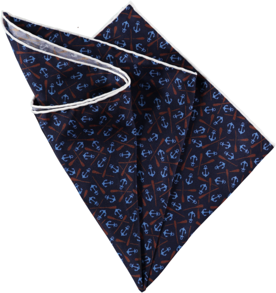 anchors-pocket-square-navy-folded