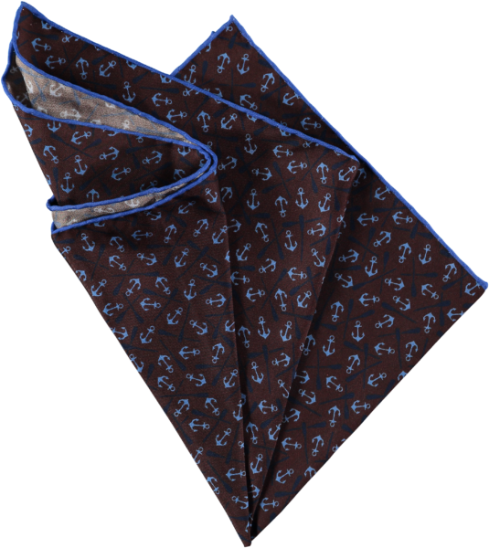 anchors-pocket-square-brown-folded