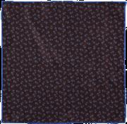 anchors-pocket-square-brown-flat