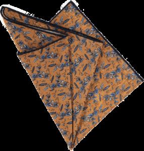 sweet-peas-pocket-square-bronze-folded