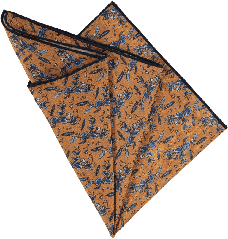 sweet-peas-pocket-square-bronze-folded